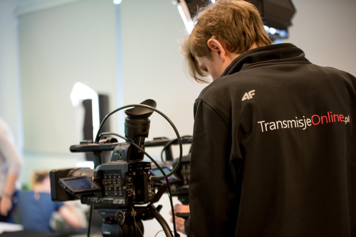 realizacja transmisji online